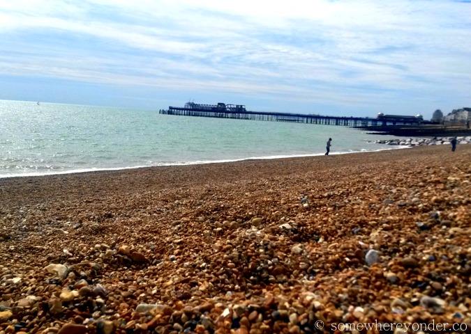 Hastings Beach, England