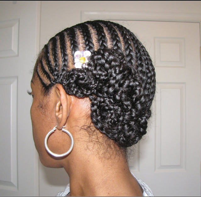 protective hairstyles for short natural black hair