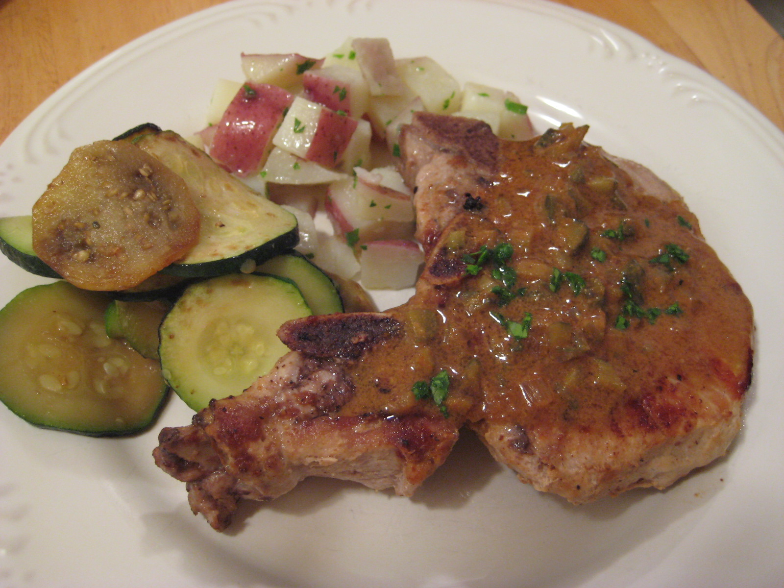 pork chop chicken au poivre recipes yummly pork chops au poivre ...