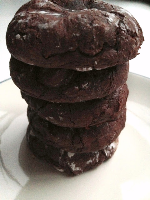 Dark Chocolate Cookies [Gluten-Free!]