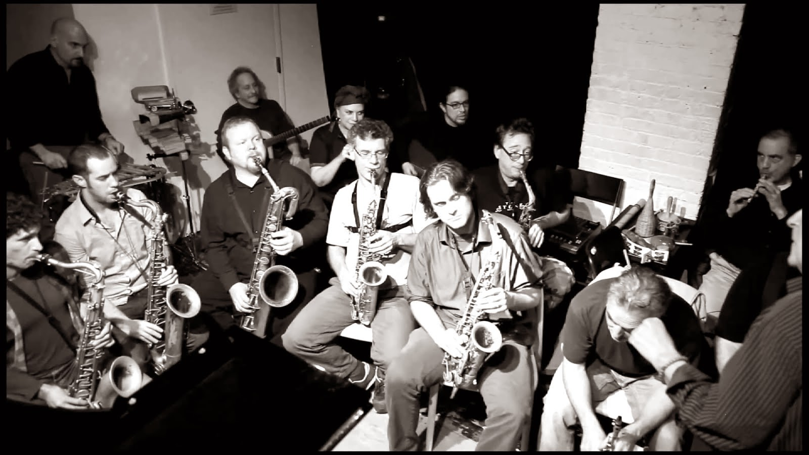 KARL BERGER'S IMPROVISERS ORCHESTRA at the Stone, NYC, 2011