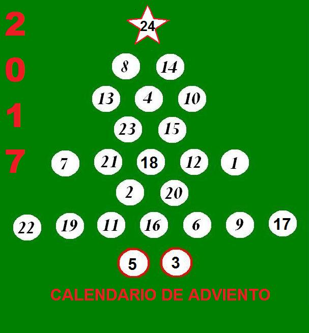 CALENDARIO DE ADVIENTO 2017