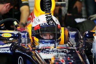 Sebastian Vettel Pole Position Valencia 2012