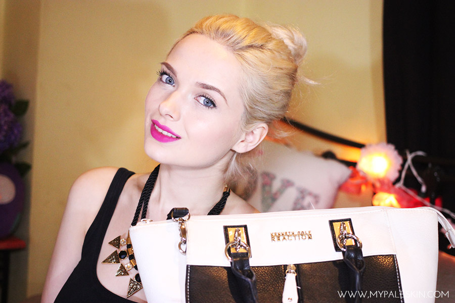 What's In My Bag, Mypaleskin, Pale Skin, Blog, VLOG