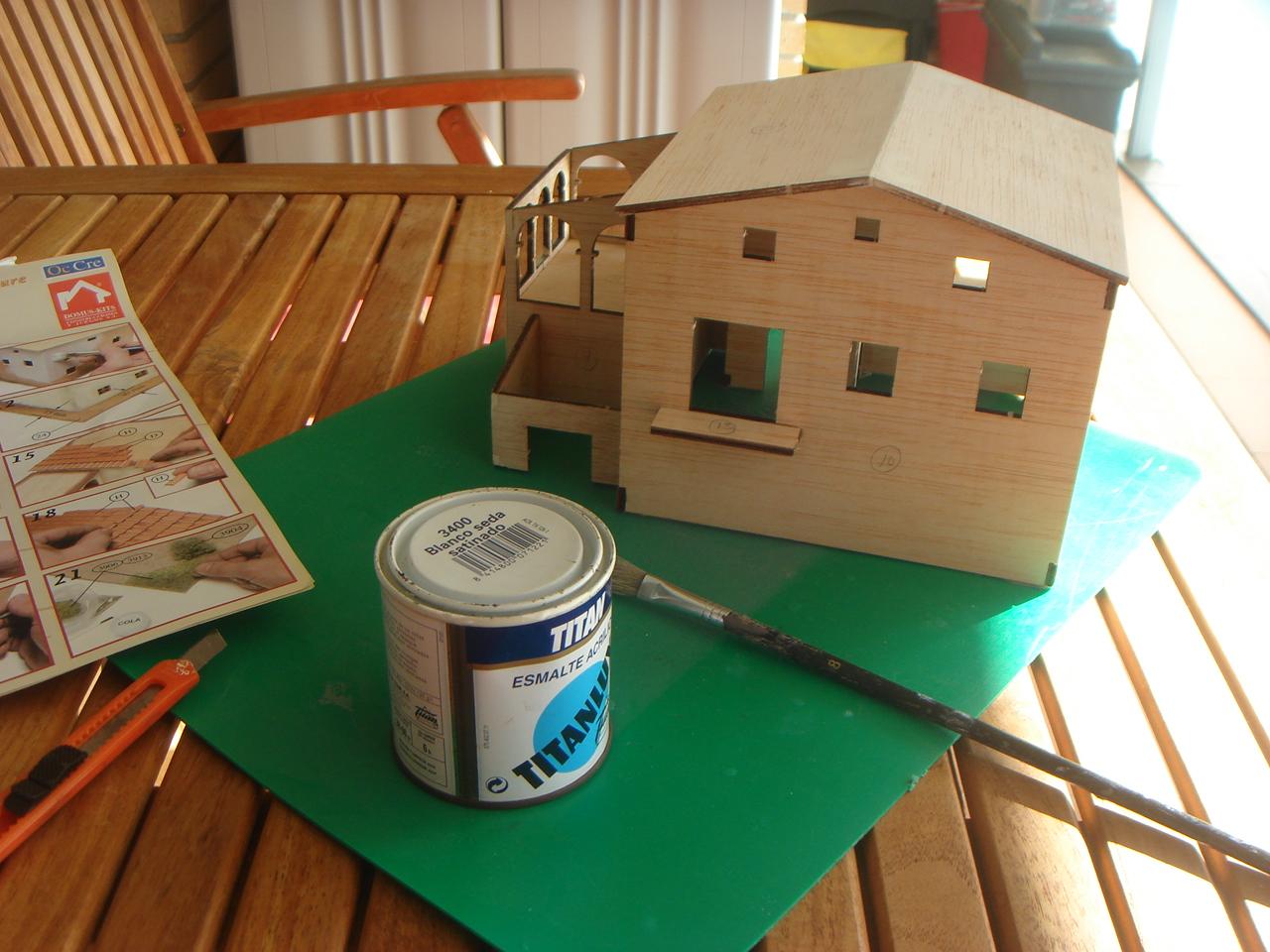 Simplementeaficiones maqueta construcci n paso a paso - Cosas para la casa originales ...