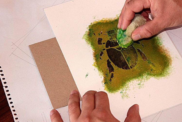Richard Morden Illustration Tutorial How To Stencil