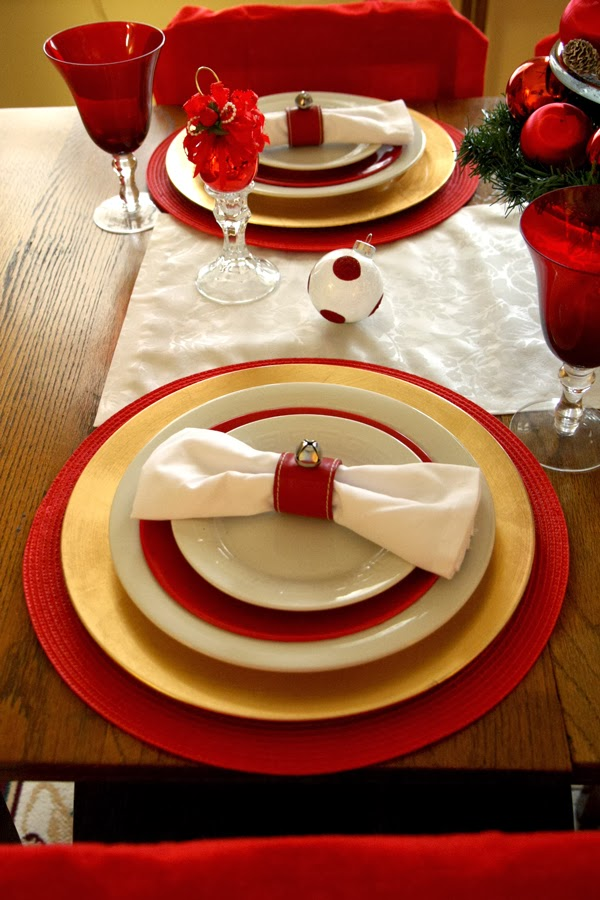 Amusing Red And Gold Christmas Table Settings Pictures - Best Image . & Amusing Red And Gold Christmas Table Settings Pictures - Best Image ...