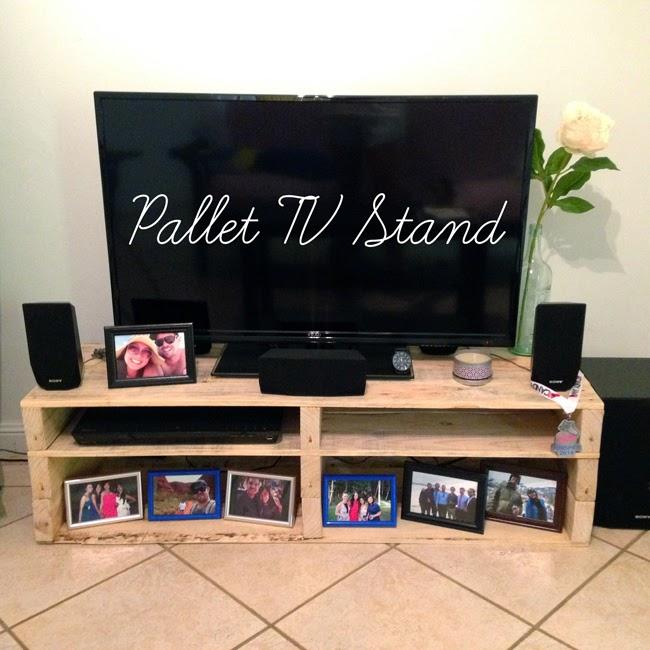 Pallet Tv Stand Part - 45: DIY Pallet TV Stand