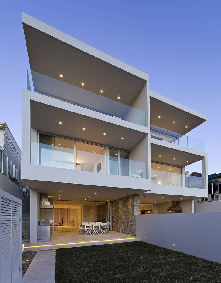 World of architecture one house two homes by mpr design for Modern house designs nsw