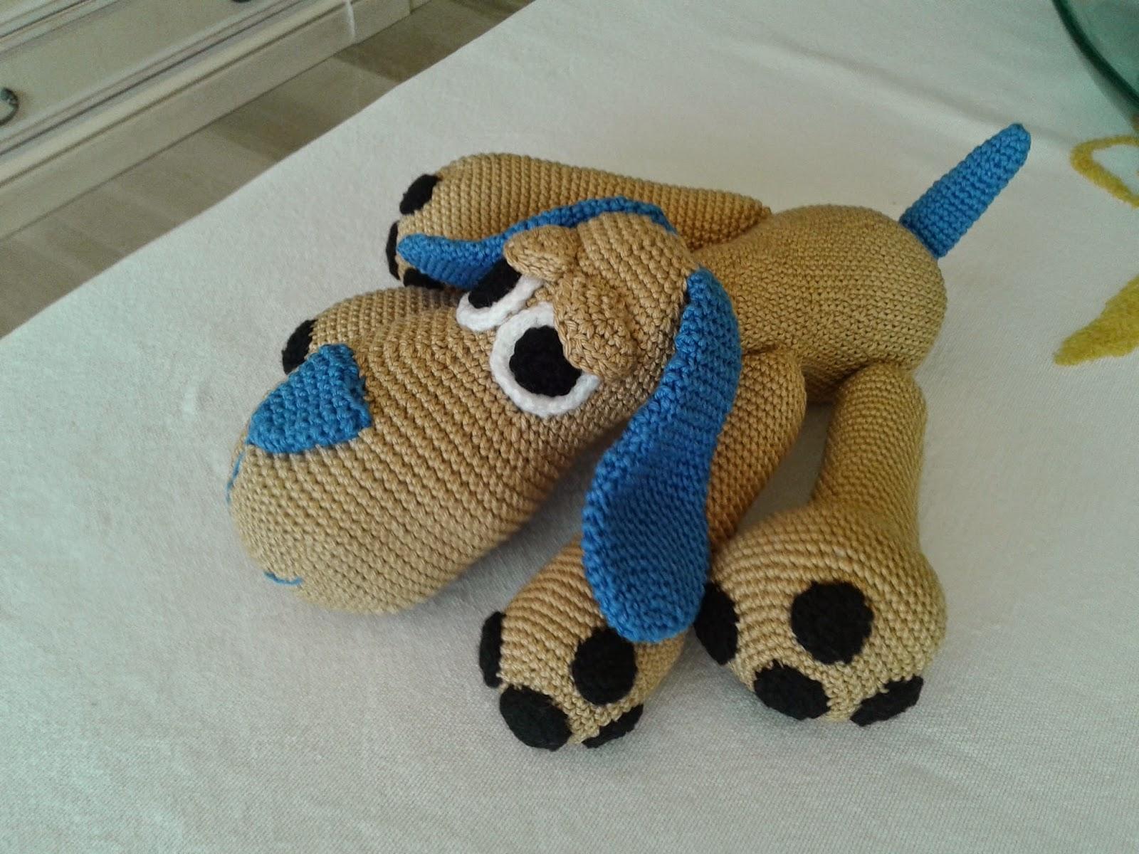 Perro Amigurumi Kawaii : LAS LABORES DE SOLE: perro amigurumi