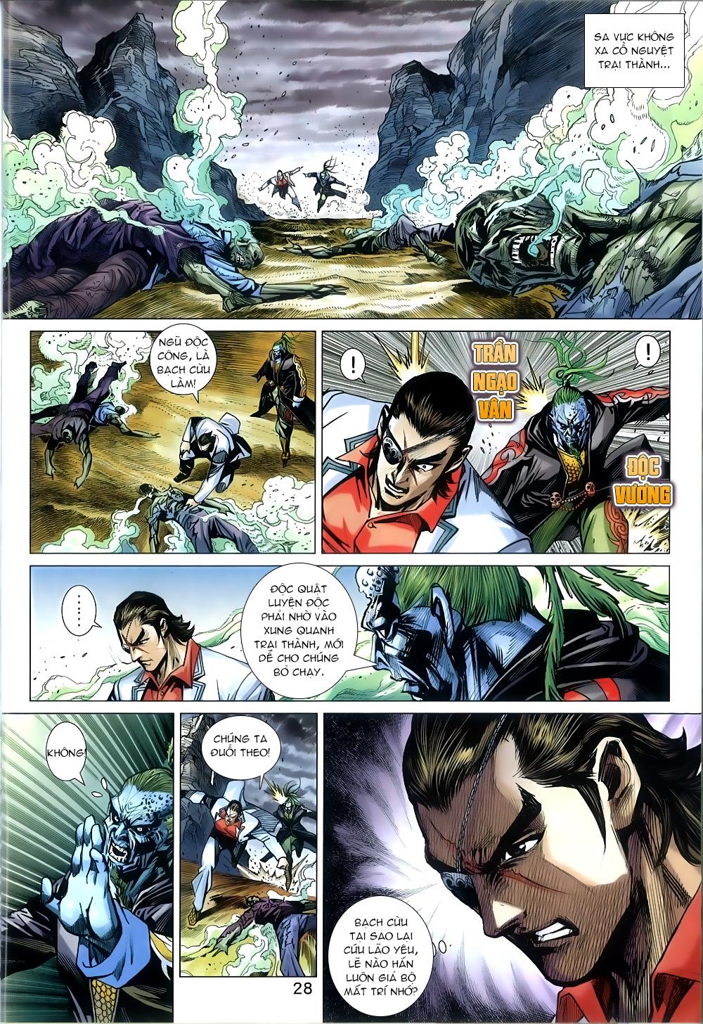 Tân Tác Long Hổ Môn chap 816 Trang 28 - Mangak.info
