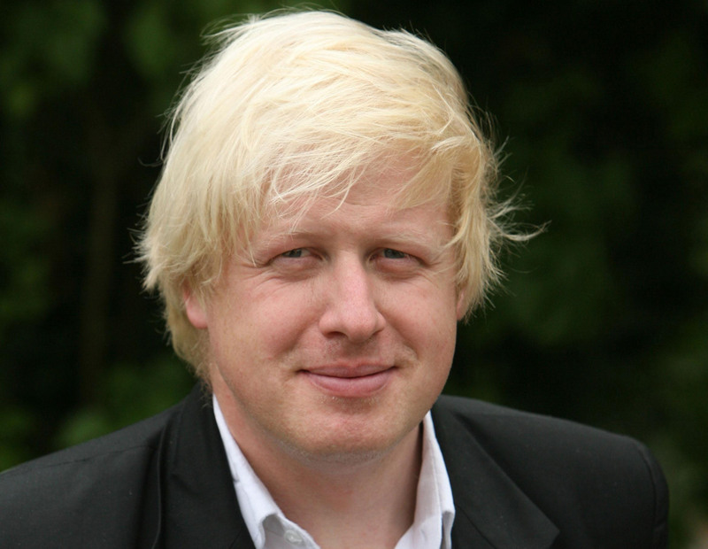 Boris Johnson As A Child