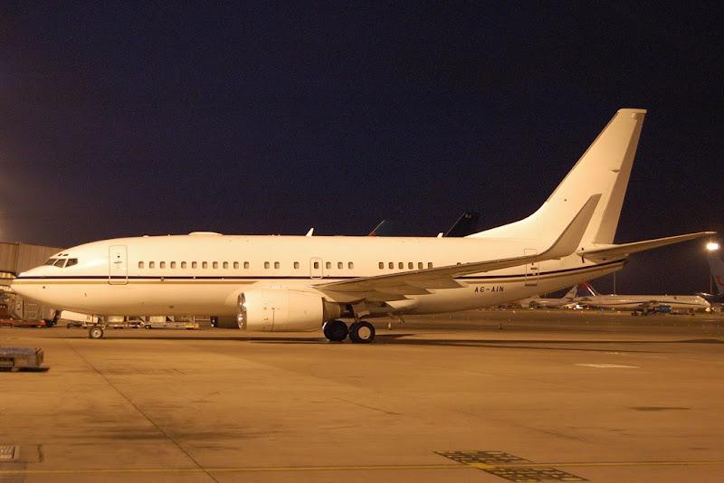 Heavy Jet Boeing Business Jet