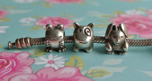pandora frog dog bunny charm