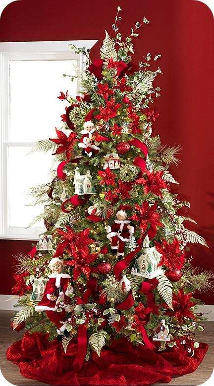 Ni a bonita ideas para decorar el rbol de navidad - Decoracion arbol de navidad ...