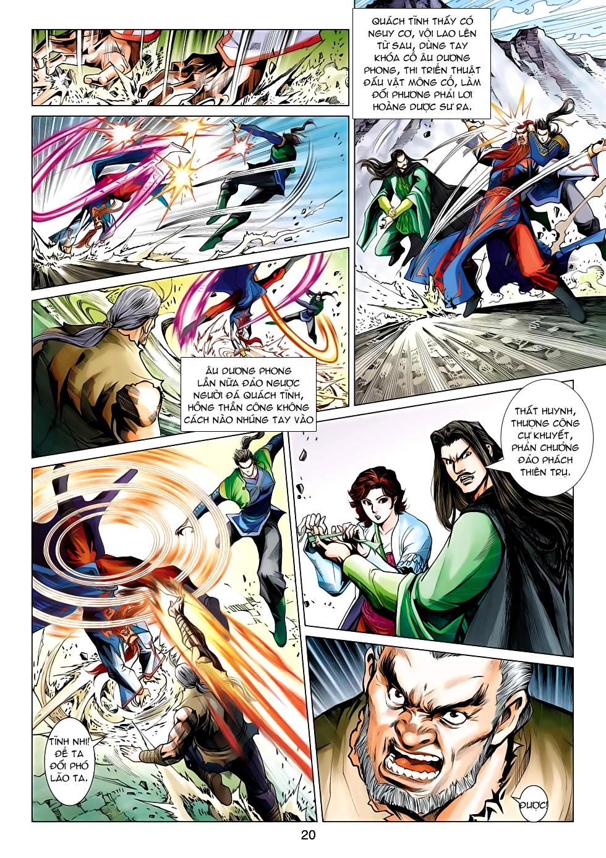 Xạ Điêu Anh Hùng Truyện chap 100 – End Trang 20 - Mangak.info