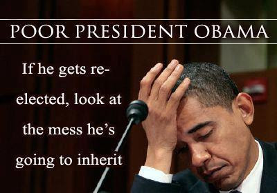 Obama inherited his own mess 