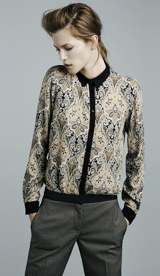 camisas mujer invierno Zara