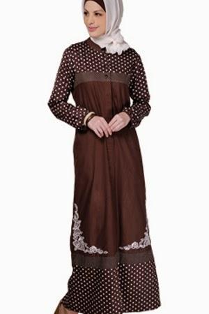 busana muslim, baju muslim Kebaya Model Baru