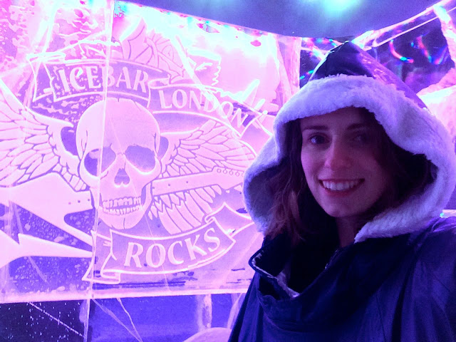 #BloggersBelowZero: Ice Bar London