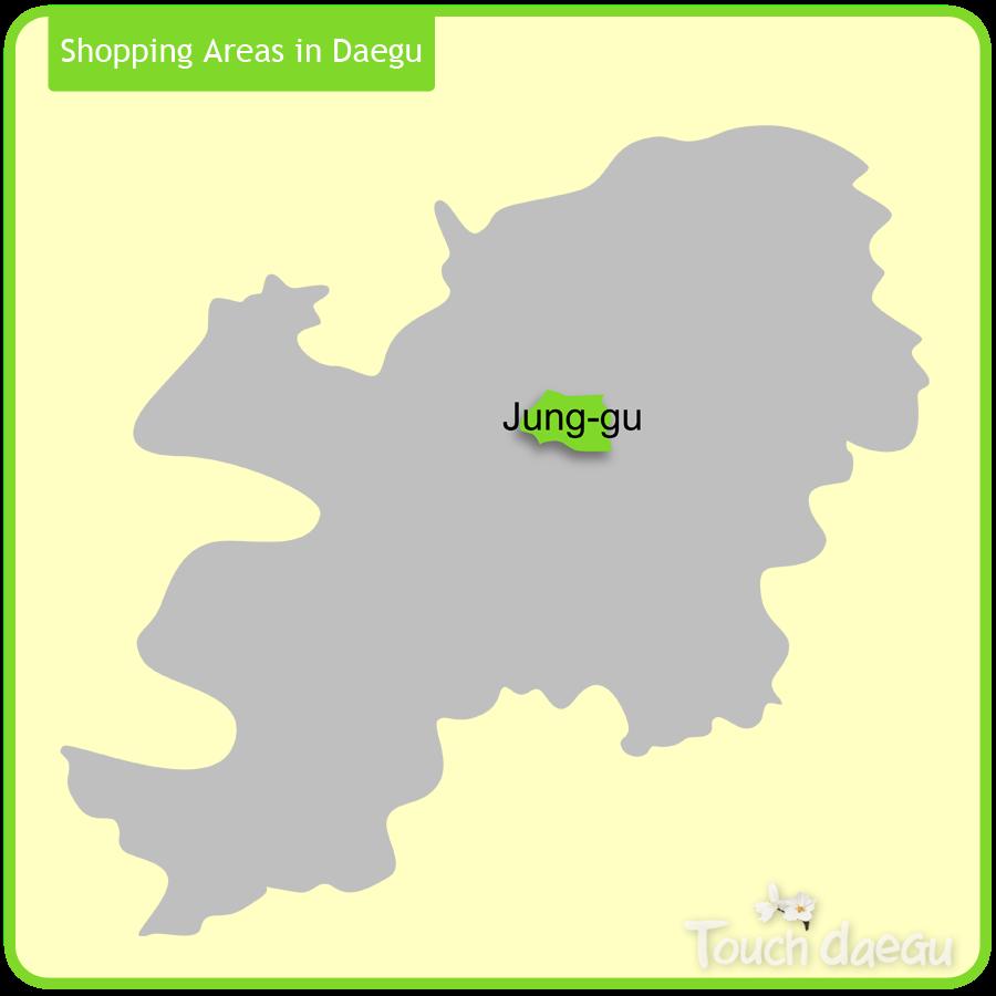 Shopping Areas in Daegu-Jung-gu