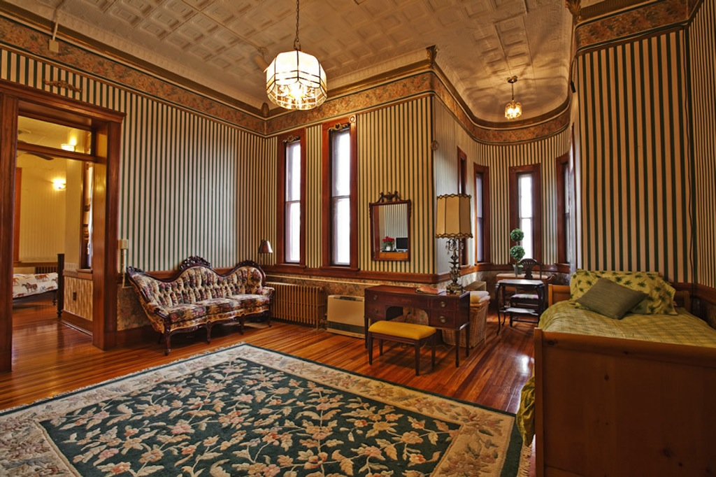 Victorian Mansion Interior