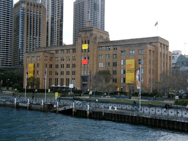 Museum of Contemporary Art Australia Circular Quay Sydney