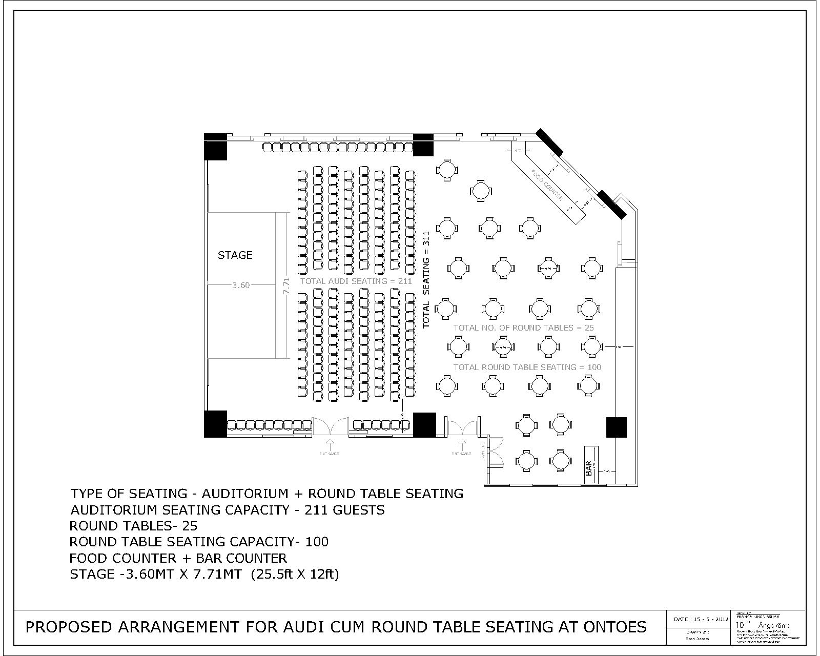 Round Table Seating Capacity One Up Banquets Mumbai An Introduction Wwwbanquethallin