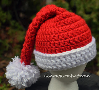 super bulky Santa hat