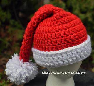 super bulky Santa hat