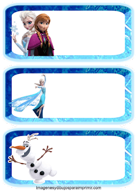 Olaf, Anna y Elsa
