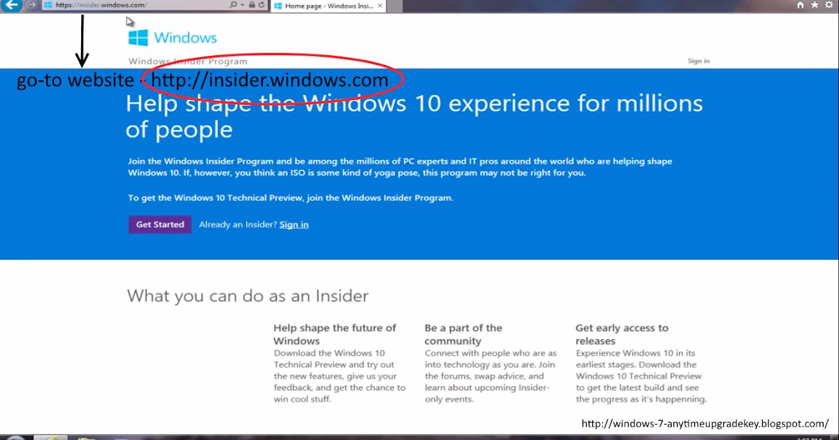 Upgrading Windows 7/8 To Windows 10 For Free ~ Windows 7 ...