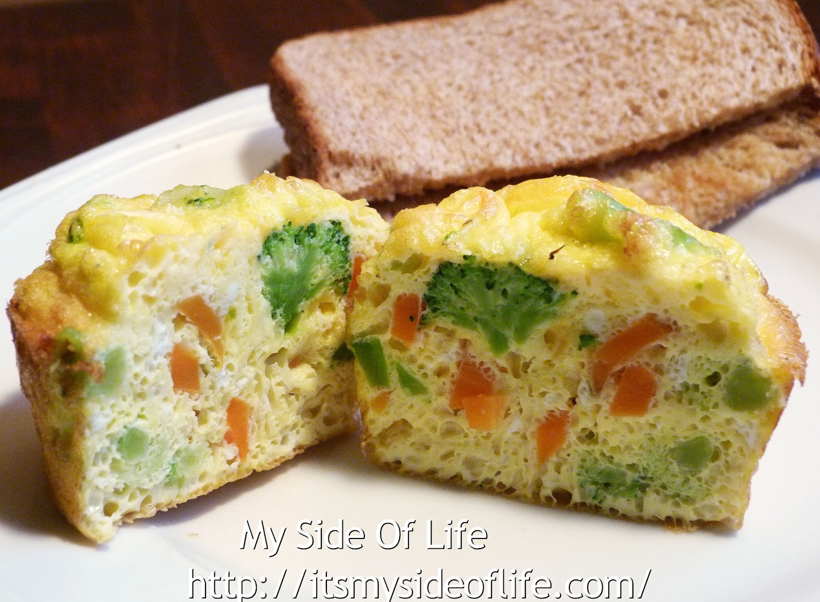 Vegetable Scrambled Egg Muffins