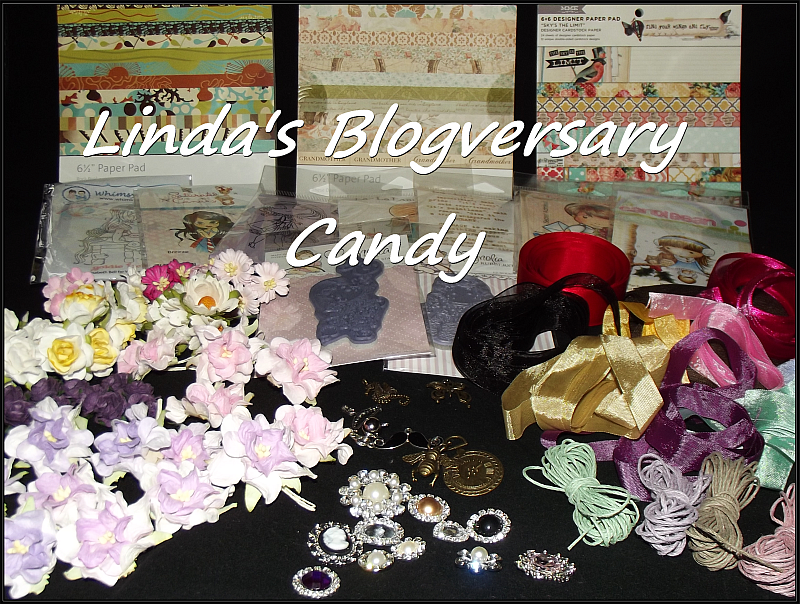 Linda's Blogversary Candy- Ends August 31