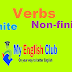 Finite vs. non-finite verbs in English