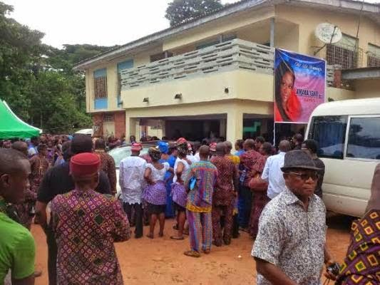 Pictures: Late Amaka Igwe Laid to Rest in Imo State