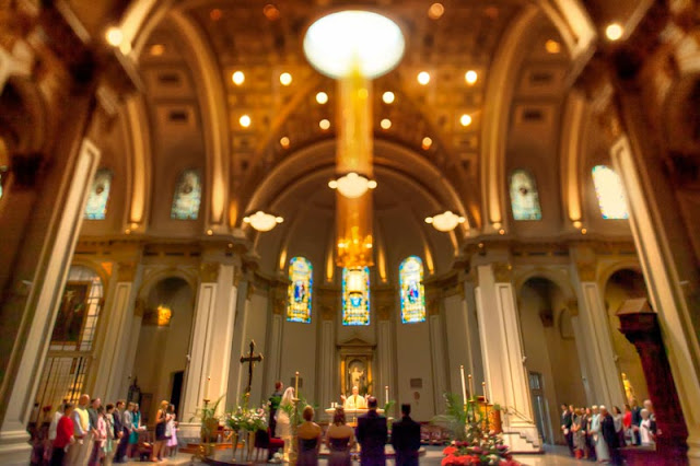 seattle wedding photography - st james cathedral
