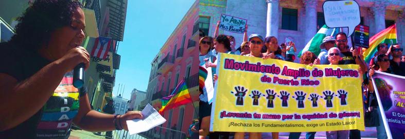 Mensaje del Movimiento Amplio de Mujeres de Puerto Rico