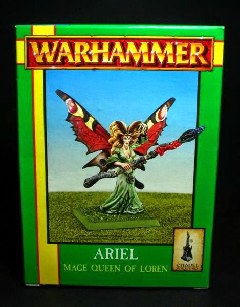 Caja de Ariel, la Reina maga de Loren
