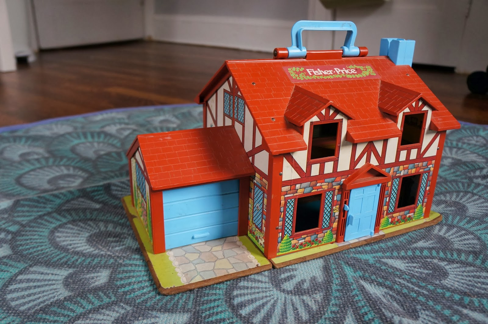 Read this vintage toys fisher price