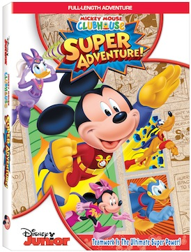 Mickey Mouse Clubhouse Super Adventure On Dvd Mommy Katie