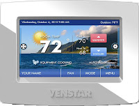 Picture via https://commons.wikimedia.org/wiki/File:ColorTouch_touch_screen_thermostat.jpg?uselang=nb