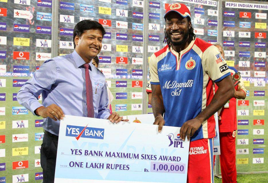 Chris-Gayle-Maximum-Sixes-RCB-vs-RR-IPL-2013