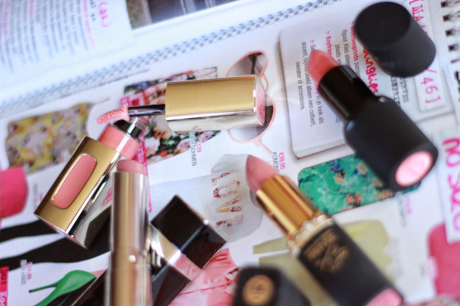 favoriete nude lipsticks