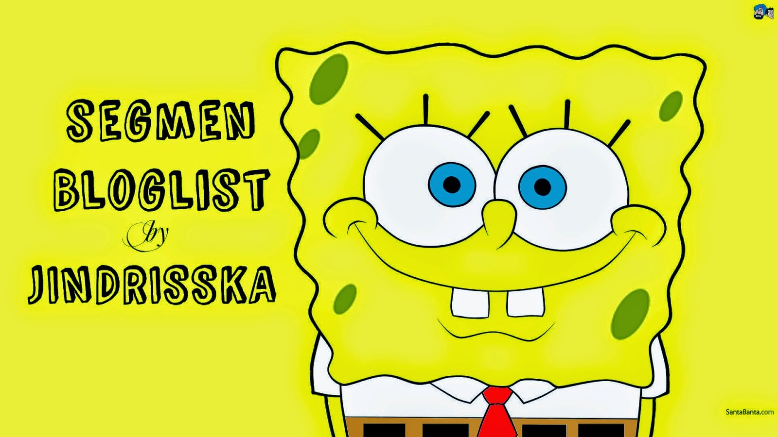 Segmen Bloglist by JINDRISSKA