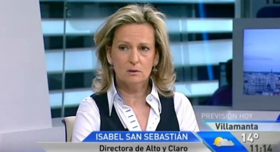 Isabel San Sebastián le costaba 10.000 euros al mes a los madrileños