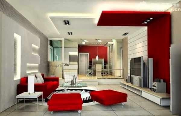 Gambar interior ruang tamu mewah