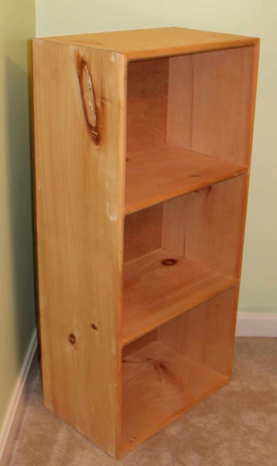 A Little Bolt of Life DIY Decoupage Bookcase