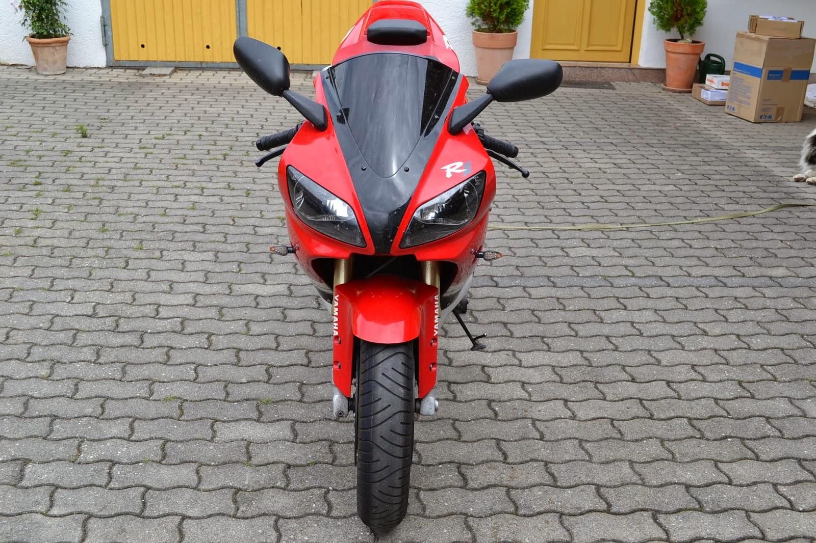 gebrauchte motorradteile schraubertipps yamaha yzf r1 typ rn01 in rot unfallfrei. Black Bedroom Furniture Sets. Home Design Ideas