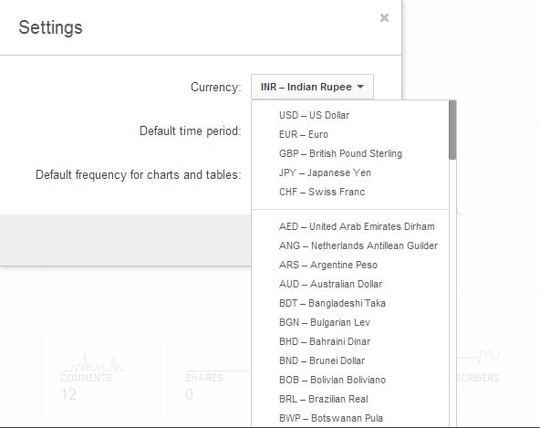YouTube Analytics settings1